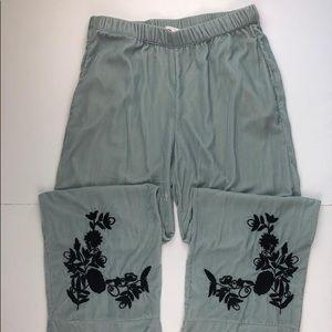 Zara velvet pants size M